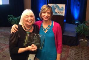 Linda Fodrini‐Johnson honored with Western Region Geriatric Care Management (WRGCM) President's Award